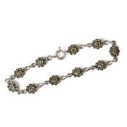 Portugalské šperky - stříbrný náramek PP-ISPL-07