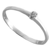Zlatý zásnubní prsten s diamantem 91309772DI