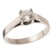 Zásnubní prsten z bílého zlata 05.B229865