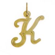Zlatý přívěsek písmeno K 000.00064