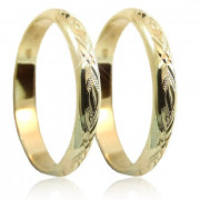 Levné snubní prsteny P3R3