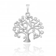 Zlatý přívěsek strom života ZZ11