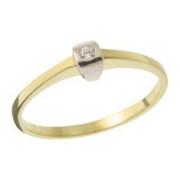 Zásnubní prsten ze žlutého zlata 05.B226873