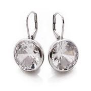 Stříbrné naušnice s obřími zirkony 0150 Sl 010.00038