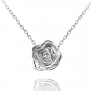 Stříbrný náhrdelník růžička JMAS5003SN45