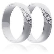 Snubní prsteny - bílé zlato 04.B767