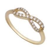 Zlatý prsten nekonečno ZZ10