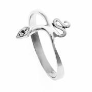 Zlatý prsten had s kamínkem 010.00097