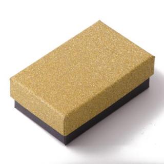 Krabička na šperky se třpytkami zlatá SF010-Z