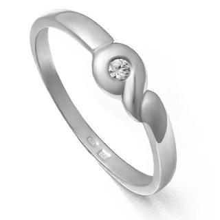 Zlatý zásnubní prsten se zirkonem 226022068