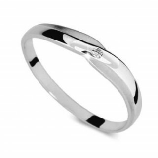 Zlatý prsten se zirkonem 010.00238