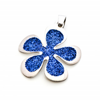 Stříbrný přívěšek květ stylizovaný 000.00017
