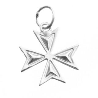 Zlatý přívěsek maltézský kříž  ZZ1513.P11