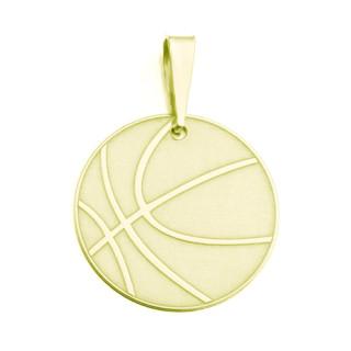 Zlatý přívěsek basketbalový míč 09.000.00003