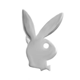 Stříbrná naušnice pravá zajíc velká 1ks 000.00108