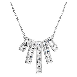 Stříbrný náhrdelník s krystaly 190.00001