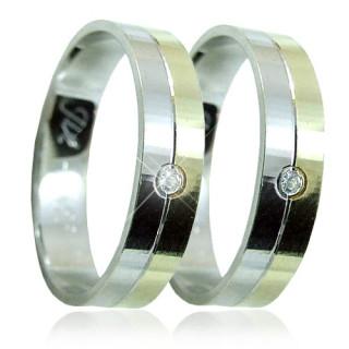 Zlaté snubní prsteny 04.B65