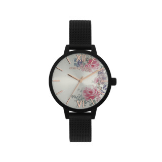 Hodinky JVD Sunday Rose Fashion Midnight Blossom
