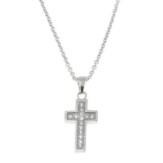 Stříbrný řetízek s křížkem AGS04/45 010.00065