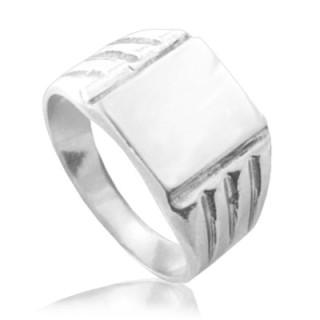 Pánský stříbrný prsten pečetní 000.00020