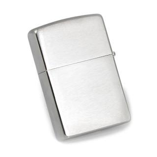 Zippo zapalovač - matný chrom 21006 Možnost rytí na zapalovač