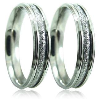 Ocelové snubní prsteny SRI5240
