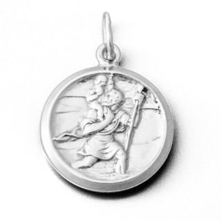 Stříbrný přívěsek sv.Kryštof 000.00010