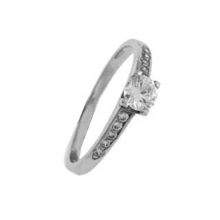 Zlatý prsten se zirkony 010.00202