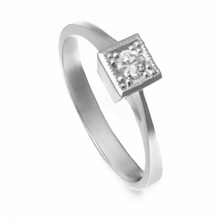 Zlatý zásnubní prsten se zirkonem ZZ11.223023071