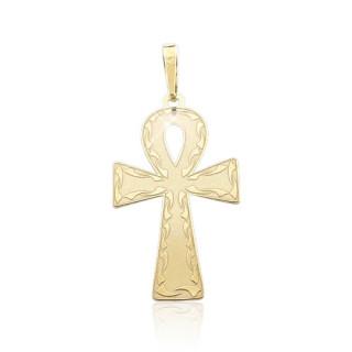 Zlatý přívěsek nilský kříž ankh 000.00018