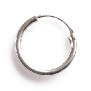 Stříbrný kroužek 18mm 1 ks 06.000.00072