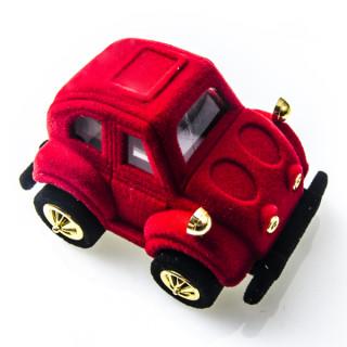 Sametová krabička červené auto 18705-12