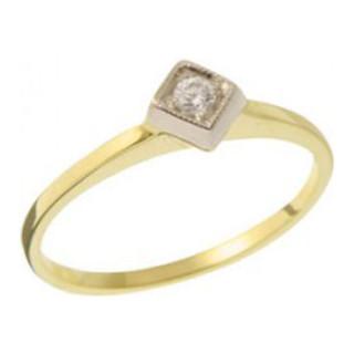Zásnubní prsten ze žlutého zlata 05.B226872