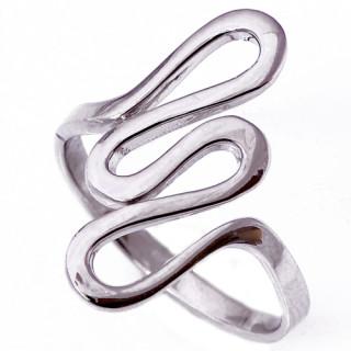 Stříbrný prsten vlnka 000.00215