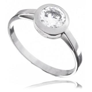 Zlatý prsten se zirkonem 010.00194