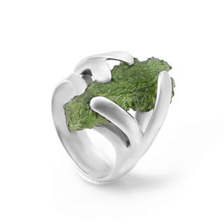 Prsten s vltavínem 01.860.00018