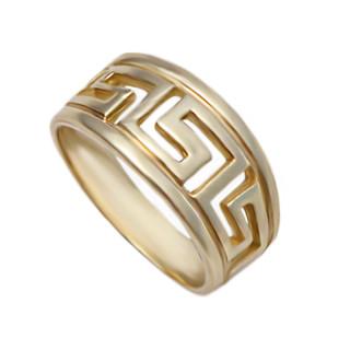 Zlatý luxusní prsten řecký vzor 000.00077