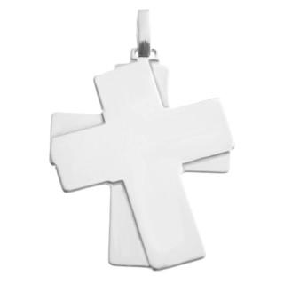 Stříbrný přívěsek křížek - dvojkříž 05.000.00002