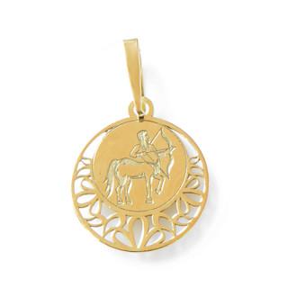 Zlatý přívěsek znamení Střelec kolečko 000.00115