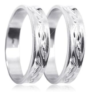 Zlaté snubní prsteny 04.U4R1