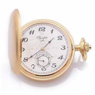 Kapesní hodinky s řetízkem Olympia 35033 - gravír