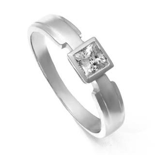 Zlatý prsten s hranatým zirkonem 226021860
