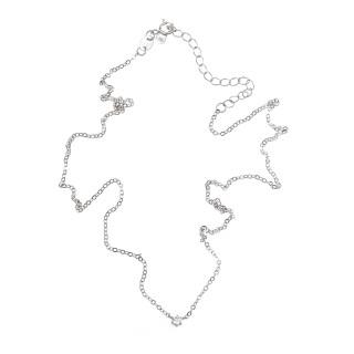 Stříbrný náhrdelník s kamínkem AGS1003