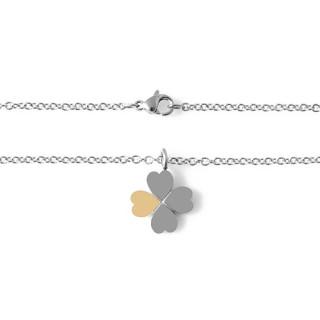 Ocelový náhrdelník čtyřlístek Brosway MINI 15.BNI15