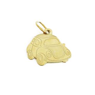 Přívěsek ze žlutého zlata auto - ploché ryté 09.000.00006