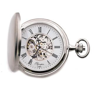 Kapesní hodinky s řetízkem Olympia 35034