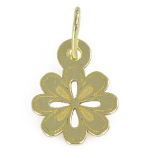 Zlatý přívěsek květinka PA0689