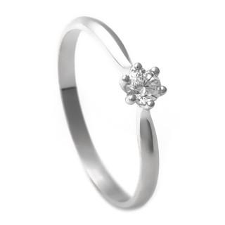Zlatý zásnubní prsten se zirkonem 223021198