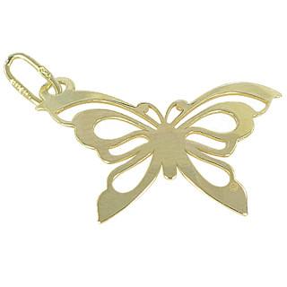 Zlatý přívěsek motýl ze žlutého zlata PA0746