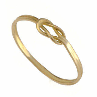 Zlatý prsten uzel mini 000.00076